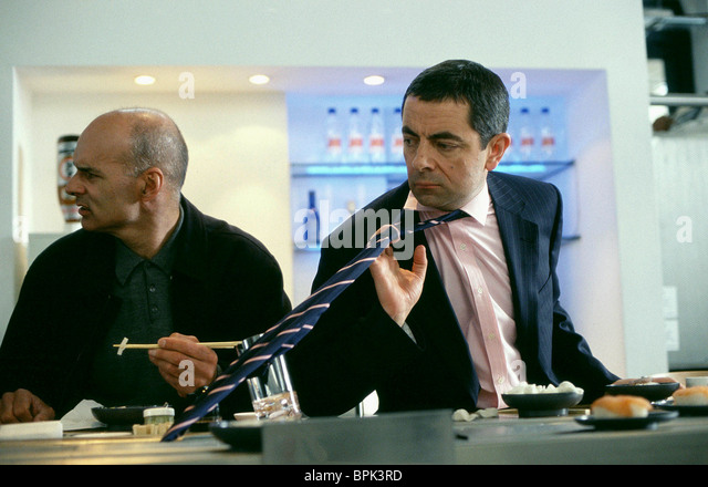 ROWAN ATKINSON JOHNNY ENGLISH (2003) - Stock Image
