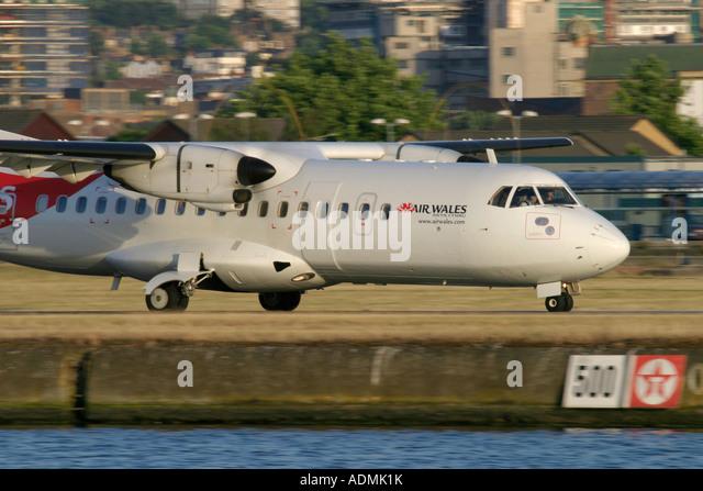 Air Wales ATR 42-300 - Stock Image
