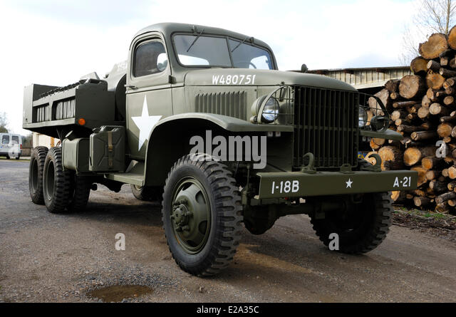 gmc truck army stock photos gmc truck army stock images alamy. Black Bedroom Furniture Sets. Home Design Ideas