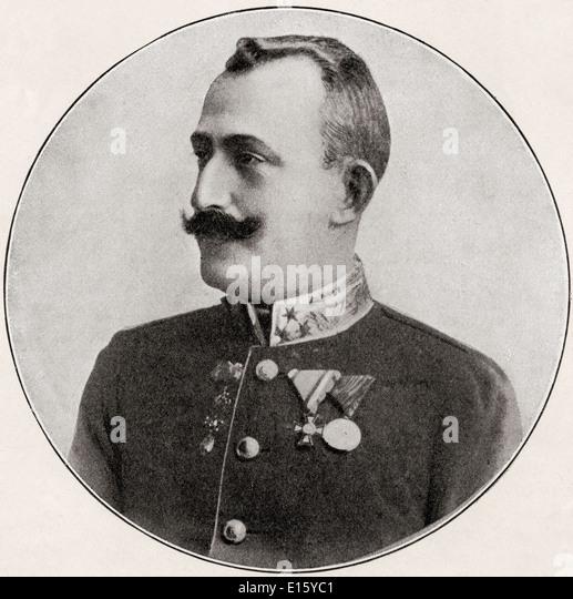 Ex-Archduke Leopold Ferdinand of Austria, 1868 – 1935. - Stock Image