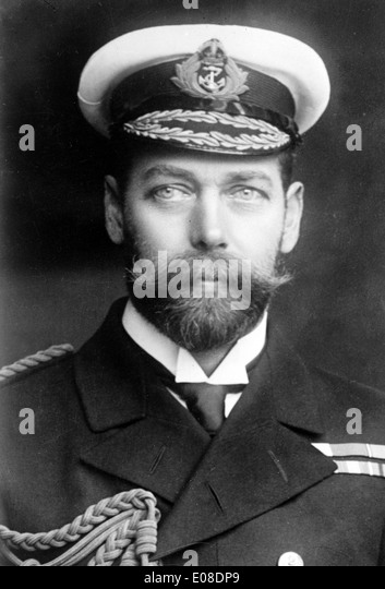 King George V of England - Stock Image