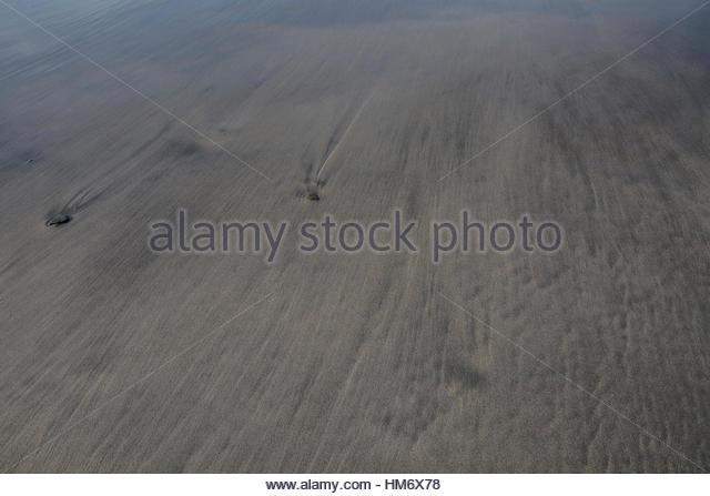 Sandscape of St. Ninian's Isle - Stock Image