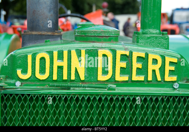 John Deere Logo Stock Photos Amp John Deere Logo Stock Images Alamy