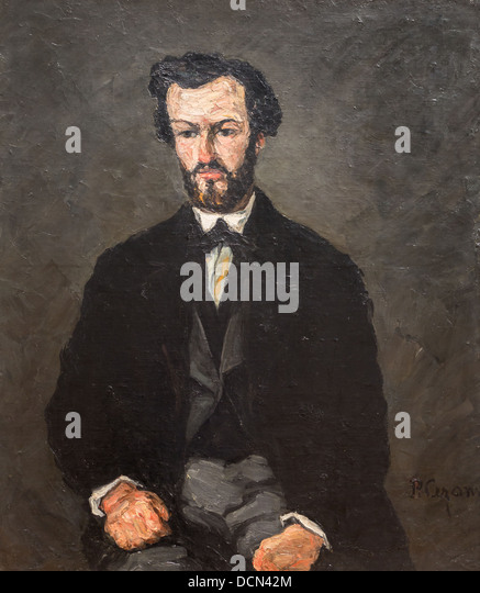 19th century  -  Anthony Valabrègue, 1866 - Paul CézannePhilippe Sauvan-Magnet / Active Museum - Stock-Bilder