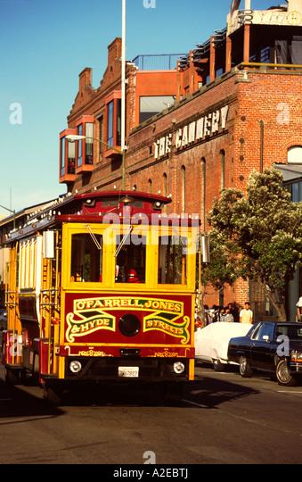 San Francisco Cable Car - Stock Image