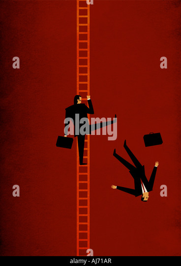 Corporate Ladder - Stock Image