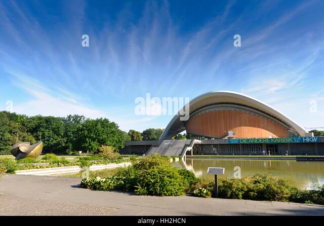 Haus der Kulturen der Welt, House of World Cultures, Berlin, Germany. - Stock-Bilder