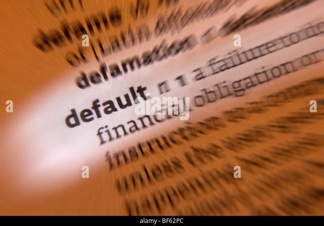 Concept - default - Stock Image