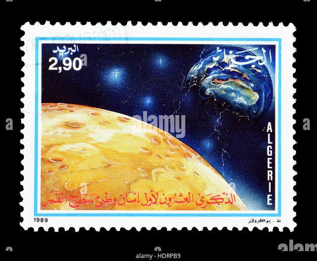 Algeria  stamp 1989 - Stock Image