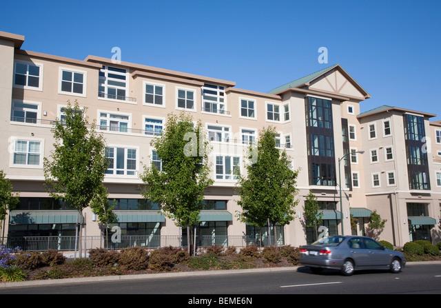 Mixed Housing Development Multi Residential Stock Photos