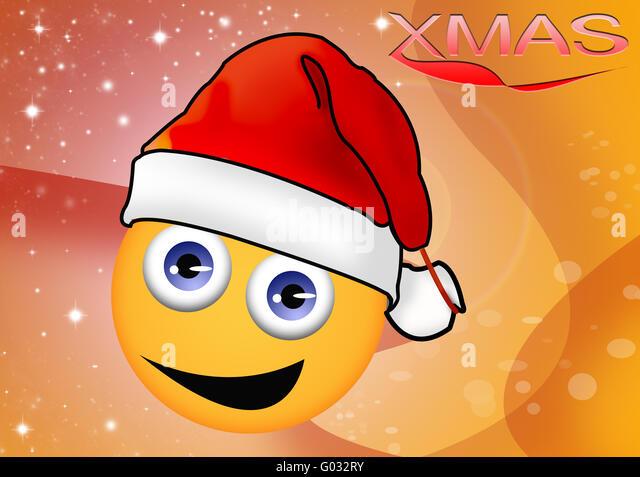 smily, cristmas - Stock Image