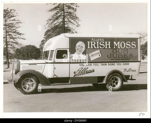 Vintage Delivery Van Stock Photos Vintage Delivery Van