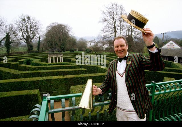 Uk Herefordshire Symonds Yat Jubilee Maze Designer Lindsay Heyes Ahnfcp Stock Photos Images Alamy