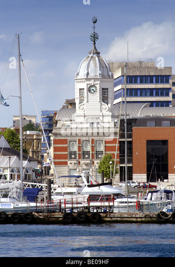 Harbour Board Offices, Southampton, Hampshire, England - Stock-Bilder