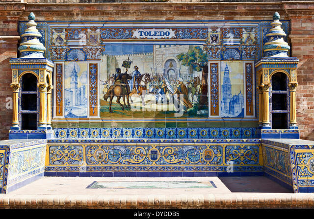 Ceramic tiles toledo spain stock photos ceramic tiles for Azulejos toledo