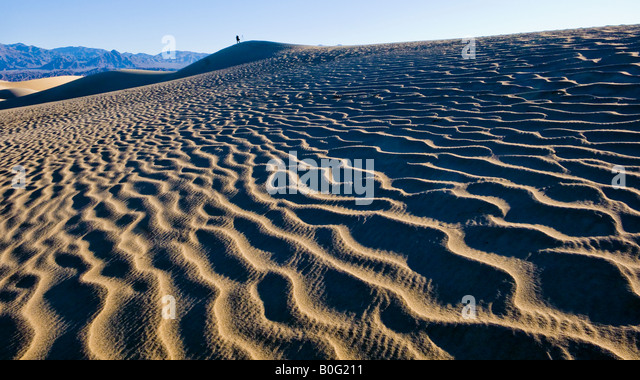 Stovepipe Wells Sand Dunes Death Valley National Park California USA - Stock-Bilder