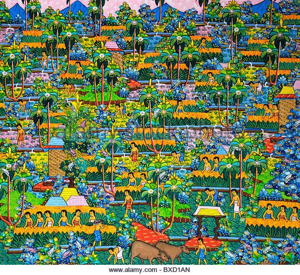 Bali Painting Stock Photos & Bali Painting Stock Images - Alamy