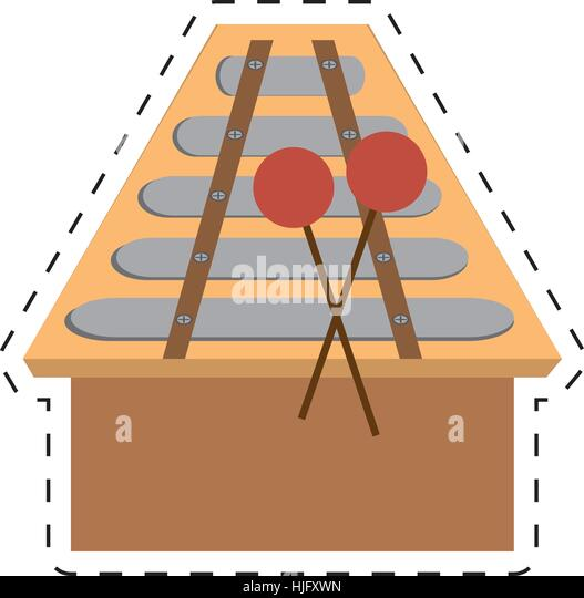 Line Drawing Of Xylophone : Line drawing percussion stock photos