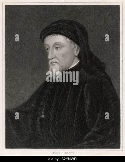 Chaucer Thomson - Stock Image
