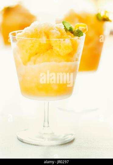 Brandy Smash - Stock Image