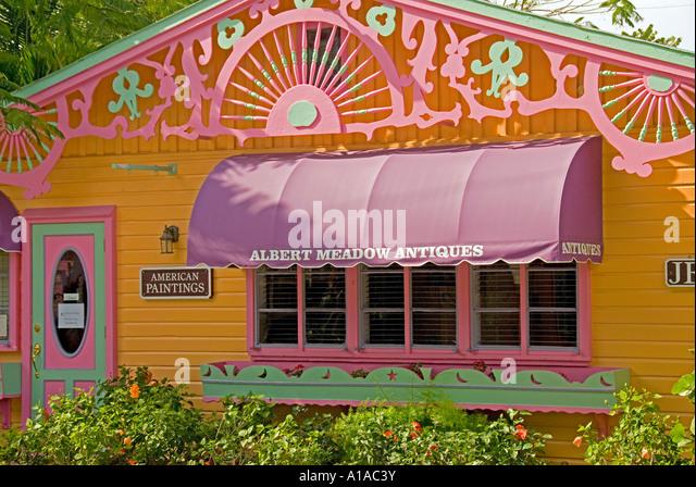 Florida Captiva Island  colorful store - Stock Image