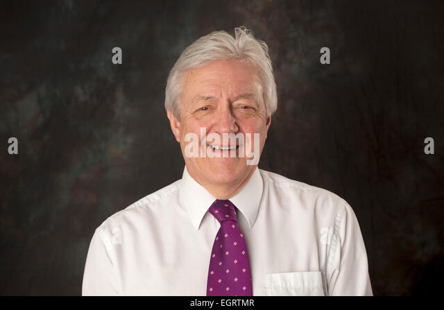 Walsall, West Midlands, UK. 1st March 2015. Bob Hall Head of News and Sport at the new Big Centre TV channel. Big - Stock Image