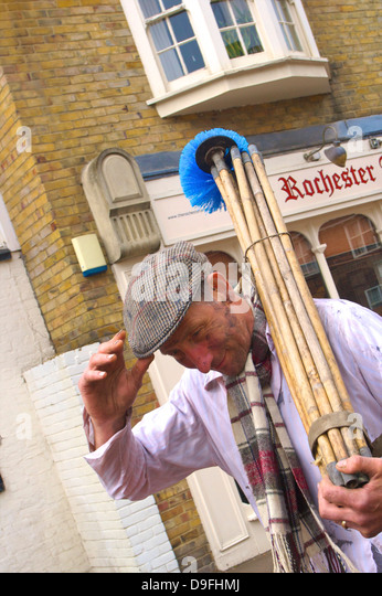 Sweep's Festival, Rochester, Kent, England, UK - Stock Image