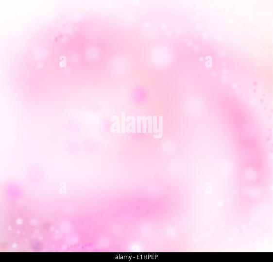 Art abstract pink holidays lights xmas background - Stock Image