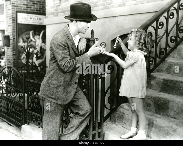 BABY TAKE A BOW 1934 Fox film was Shirley Temple's first star vehicle - Stock Image