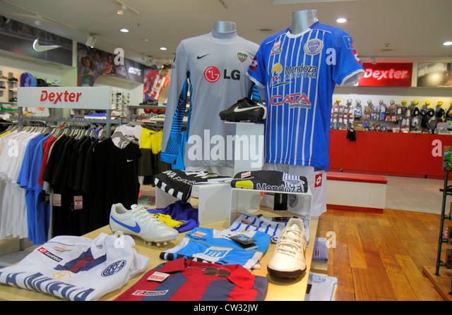 Mendoza Argentina Villa Nueva Mendoza Plaza Shopping mall business shopping center centre Dexter sports store sportswear - Stock Image