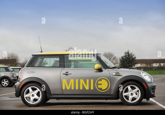 Mini e electric car - Stock Image