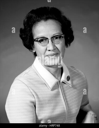 Katherine Johnson, NASA Research Mathematician - Stock Image