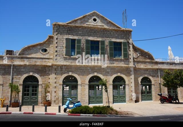 Old train station, Jerusalem, Israel - Stock Image