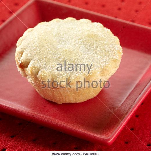 plain mince pie - Stock Image