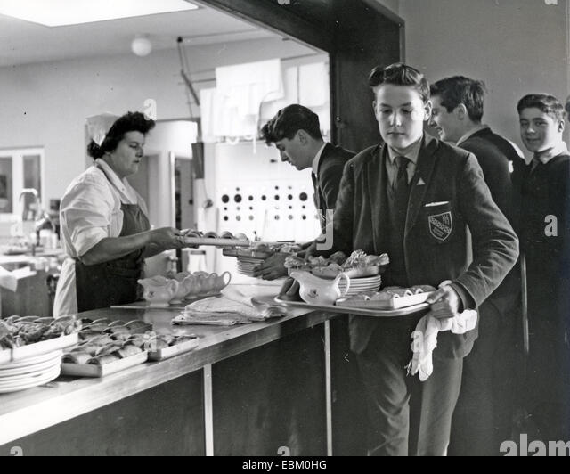 ENGLISH GRAMMAR SCHOOL about 1970 - Stock Image