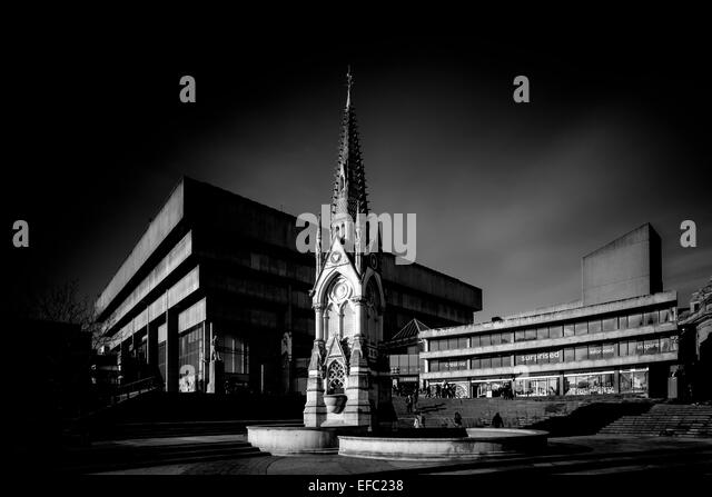 The Old Library (prior to demolition) in Chamberlain Square, Birmingham., Birmingham. - Stock-Bilder