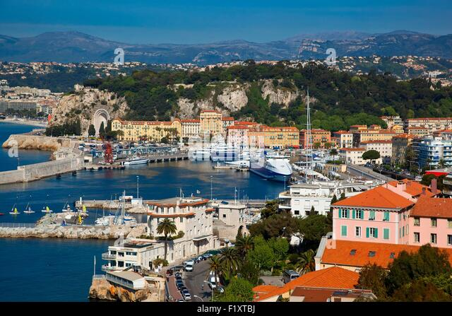 France, Alpes Maritimes, Nice, Harbor - Stock Image