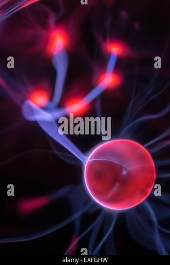 High Voltage Plasma : Electron beam stock photos images