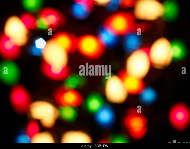 Lights Abstract background - Stock Image