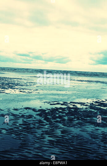 Wales beach - Stock Image