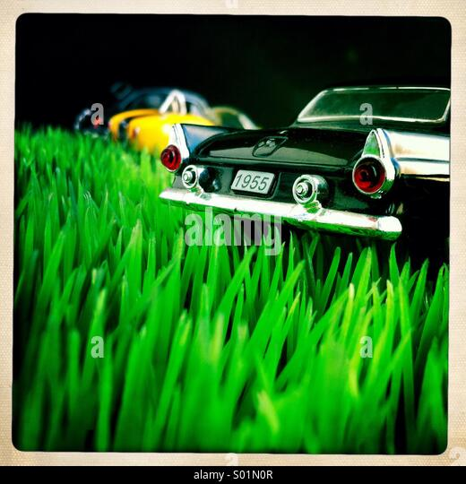 American car classical - Stock Image