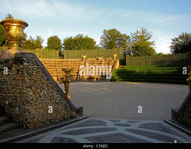 Salle de bal stock photos salle de bal stock images alamy for Jardin chateau de versailles
