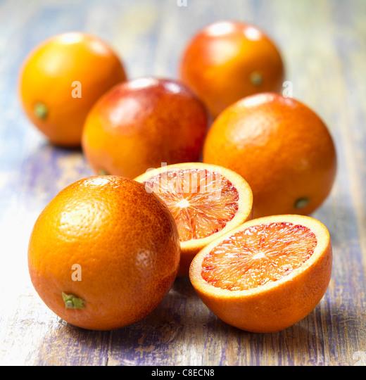 Blood oranges - Stock Image
