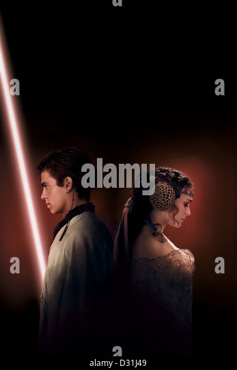 Star Wars II, Attack of the clones - Stock Image