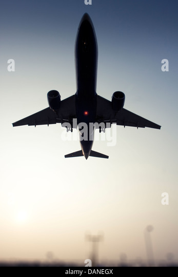 Commercial airliner - Stock Image