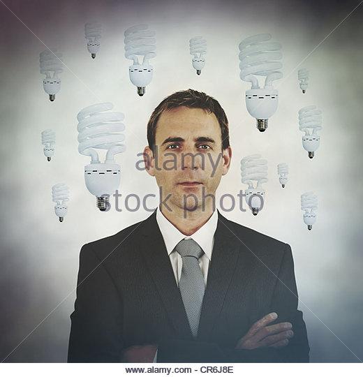 ideas man - Stock Image