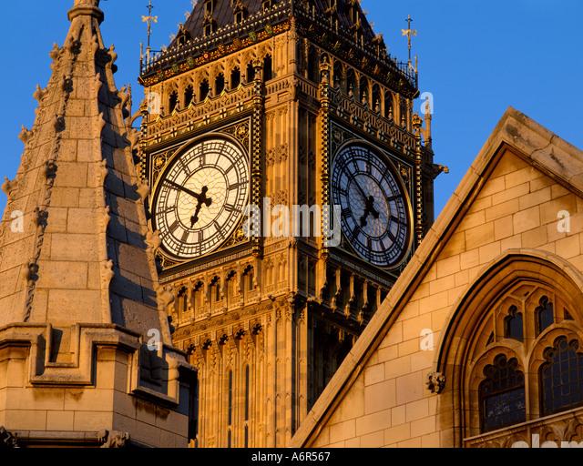 Big ben Clockface London - Stock-Bilder