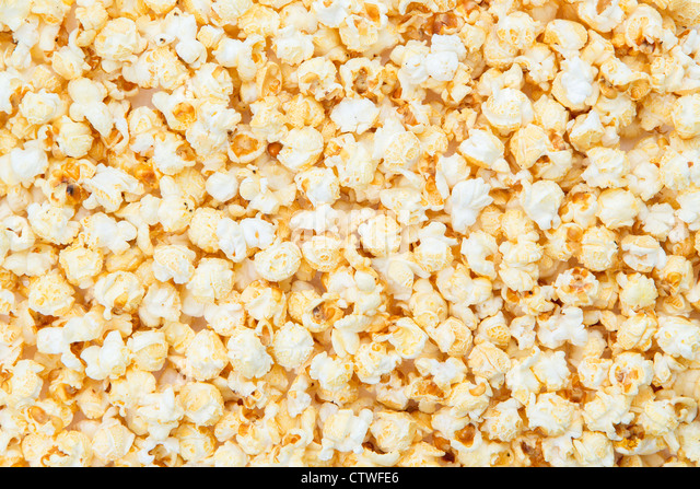 A popcorn background - XXXL image - studio shot - Stock-Bilder