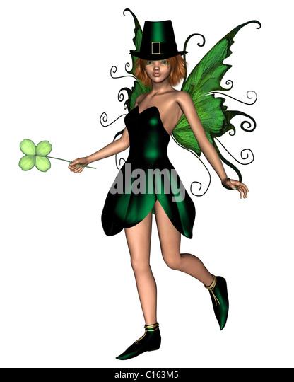 Irish Fairy - 2 - Stock Image