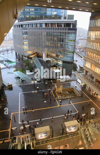 Japan, Osaka, Osaka Station City, Grand Front Osaka, - Stock Image